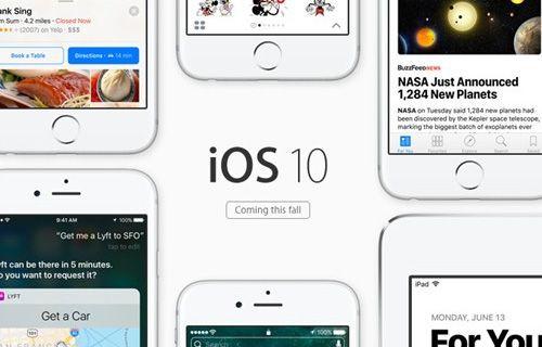 iOS 10'un 5. beta sürümü yayınlandı