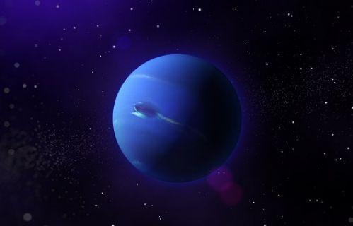 Neptün'deki gizemli kara girdabın sırrı çözüldü