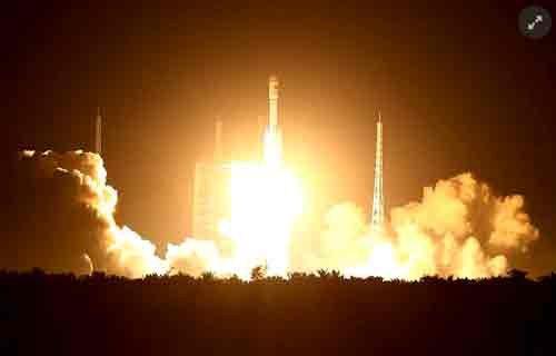 Çin'den uzaya 'Uzun Yürüyüş -7' roketi