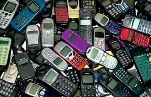 Eski telefonlardan altın çıkıyor