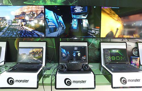 Monster VR Ready Notebook'larını satışa sundu