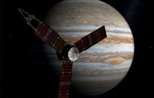 Juno Jüpiter'in manyetik alanına girdi