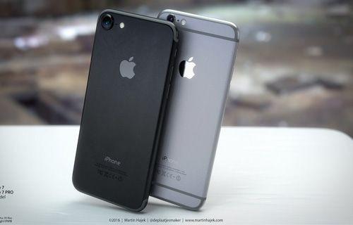 İşte 'Uzay Siyah' renkli iPhone 7!
