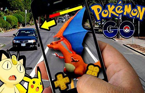 Pokemon Go ile silahlı soygun