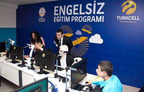 """Turkcell'den """"Engelsiz Eğitim"""" kapsamında 1 yılda 47 okul"""