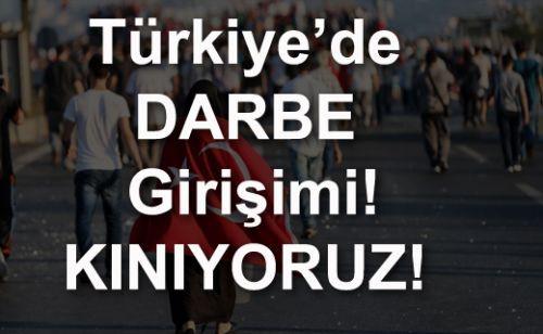Darbe girişimi: Türkiye'nin kara günü!