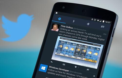 Twitter Android uygulamasına gece modu özelliği geldi