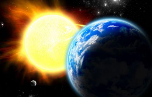 Dünya bu kadar hızlı dönmesine rağmen neden Güneş'e fırlamıyoruz?