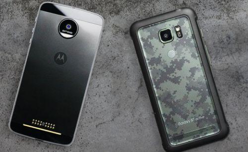 Hangisi daha sağlam? Galaxy S7 Active vs Moto Z Force