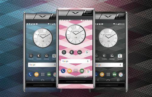 Vertu'nun en ekonomik akıllı telefon serisi Aster Chevron satışa çıktı