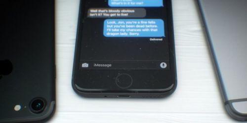 Sızdırılan uzay siyahı iPhone 7 kesinlikle harika görünüyor