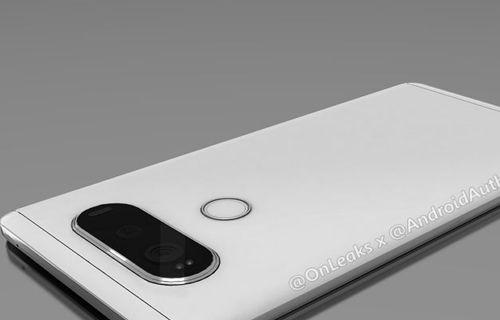 LG V20 tüm tasarımı ile karşınızda!