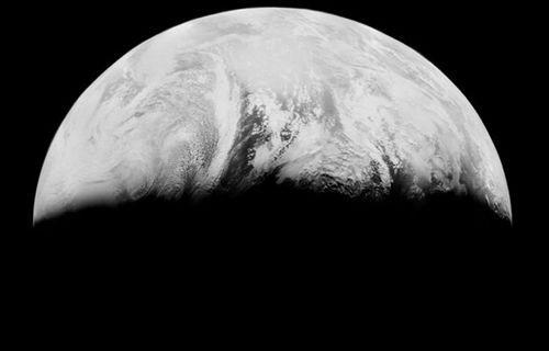 Dünya'nın, Ay'dan çekilen ilk fotoğrafları