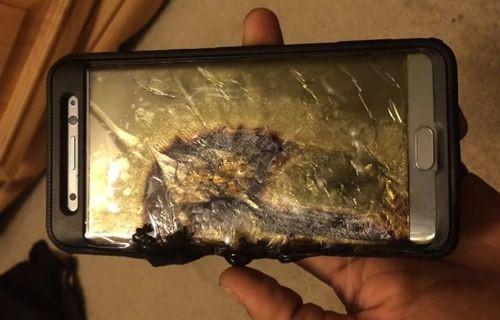 Yenilenmiş Galaxy Note 7 Burger King'de patladı [Video]