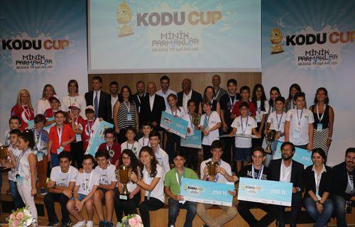 Geleceğin bilişim dehaları Kodu Cup'ta yarıştı!