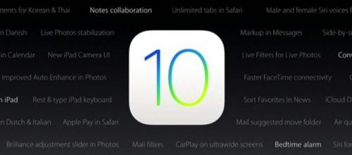 Apple iOS 10, watchOS 3 ve tvOS 10'u resmi olarak yayınlamaya başladı