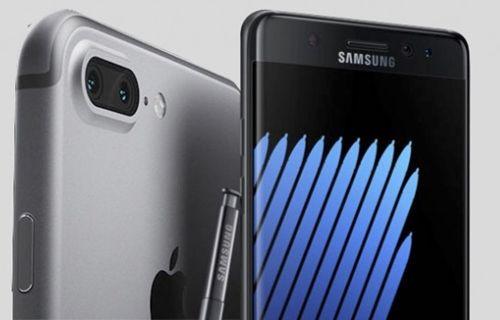 iPhone 7 Plus ve Galaxy S7 kamera karşılaştırması