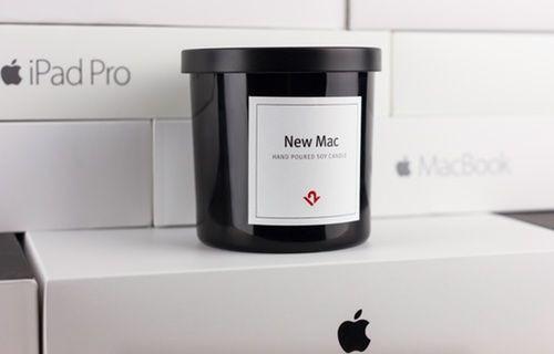 Yeni MacBook gibi kokan mum satışa sunuldu!