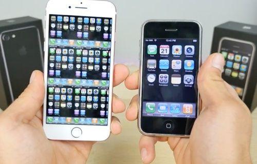 iPhone 7 ile ilk iPhone karşı karşıya!