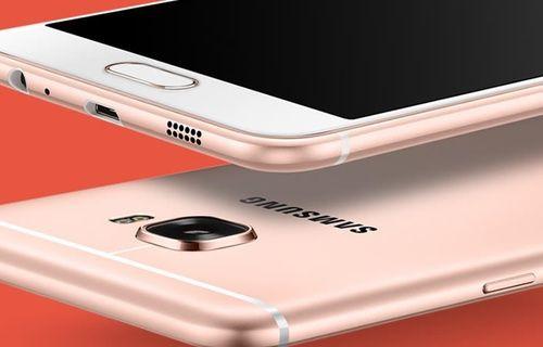 Galaxy C9'un görselleri yayınlandı