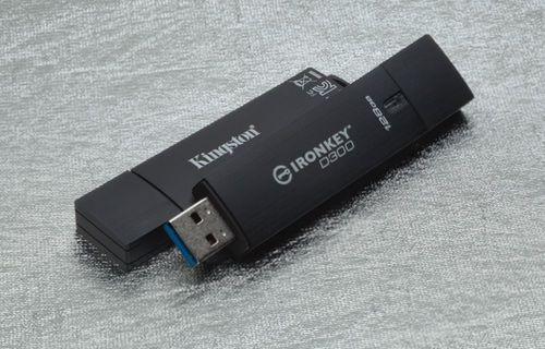 Kingston'dan üst düzey güvenlikli USB bellekler!