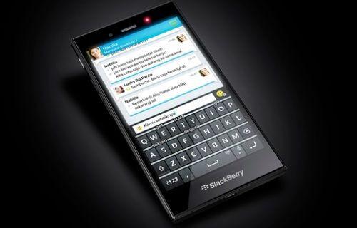 Blackberry'nin son QWERTY klavyeli akıllı telefonu sızdırıldı