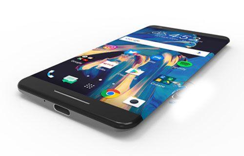 İşte çift kavisli ekranı ile HTC 11!