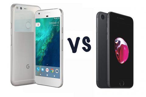 Google Pixel ve iPhone 7 Plus hız testi (Video)