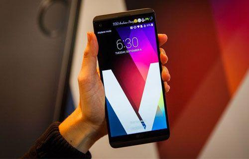LG V20'nin kamerası çatlıyor!