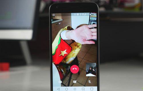 WhatsApp görüntülü görüşme testi (Video)