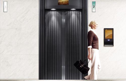 Asansörler artık çift katlı
