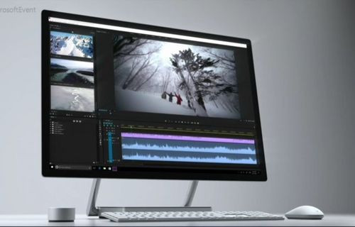 Microsoft, Surface Studio ile iMac'e rakip oldu