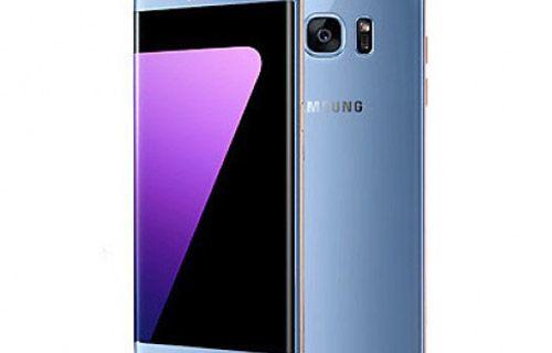 Galaxy Note 7'nin mercan mavi rengi Galaxy S7 Edge'de!