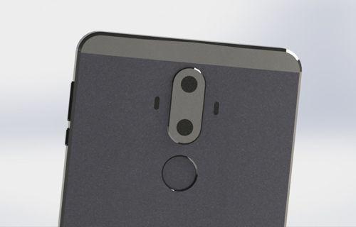 Huawei Mate 9'un yeni görüntüleri sızdırıldı!