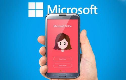 Microsoft'un Selfie uygulaması Android'e geldi!