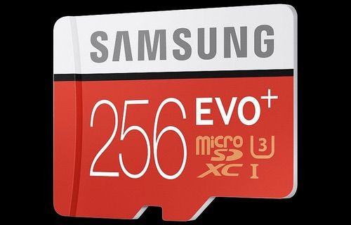 590 TL'lik Samsung EVO Plus 256 GB MicroSD Türkiye'de!