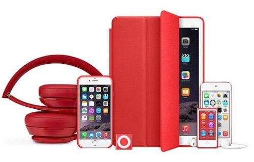Apple'dan yeni (PRODUCT)RED ürünleri!