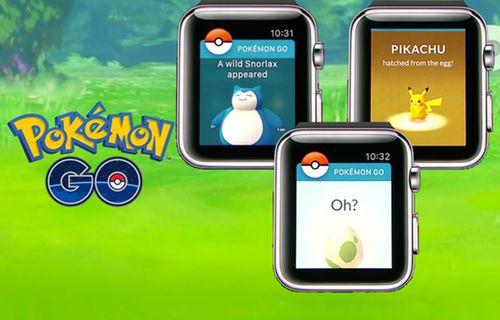 Pokemon GO'yu artık saatinizden oynayabileceksiniz!