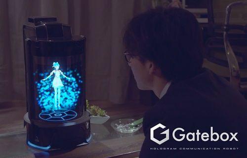 Gatebox, kişisel holografik yardımcınız olacak!