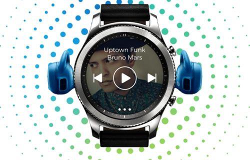 Samsung Gear S3'e Spotify desteği geldi!