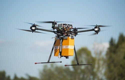 Fransa'da postacı drone devri!