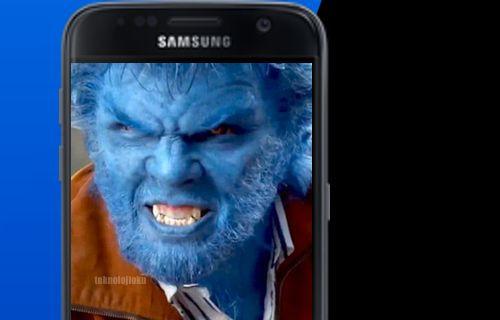 Galaxy S8'de canavar modu olabilir!