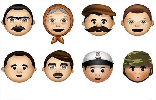 Türklere özel emoji klavye