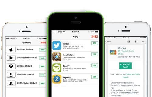 Cash for Apps ile uygulama indir hediye kartı kazan!