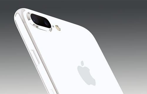 Bembeyaz iPhone 7 görüntülendi!