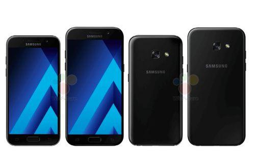 2017 model Galaxy A3 ve Galaxy A5'in görselleri sızdı!