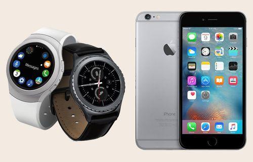 iPhone için Gear S2 ve Gear S3 desteği geldi