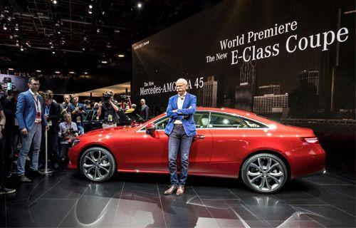 Mercedes, Detroit Otomobil Fuarı'nda yeni modellerini tanıtıyor ile ilgili görsel sonucu