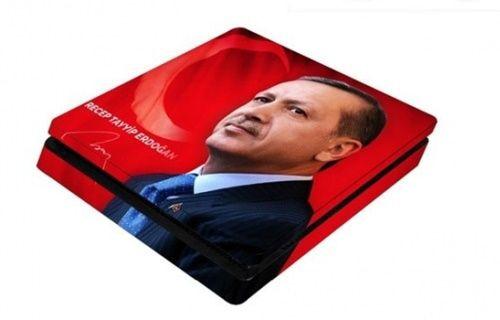 PS4 için Recep Tayyip Erdoğan çıkartması satışta!