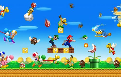 Super Mario, Nvidia Shield'e geliyor!